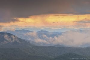 Dancing Clouds on the Blue Ridge Parkway
