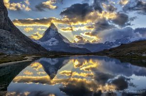 The Famous Matterhorn of Switzerland