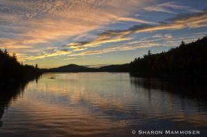 Sunset at Tupper Lake
