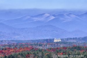 Biltmore Estate from the Blue Ridge Parkway