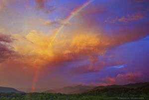 Rainbow in WNC